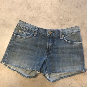 ⭐️7 for all mankind Cut off Jean shorts size 30